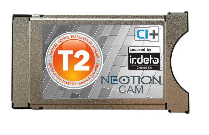 CAM-модуль T2 NEOTION Irdeto Cloaked CA