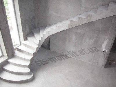 Бетонные лестницы под заказ - Полтава