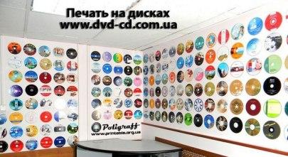 Тиражування, друк на CD/DVD