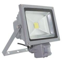 Прожектор Led 20W з датчиком руху SLIM IP66