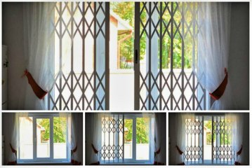 Раздвижные решетки на окна