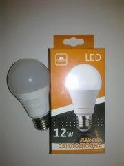 "LED лампа 12Вт 1200Лм 4000К ""Евросвет"" Е27 - аналог лампи розжарювання 120Вт!"