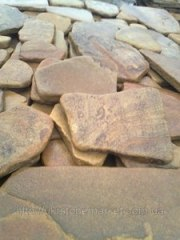 Камінь піщаник катаний
