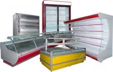 Холодильне,технологічне обладнання для магазинів та підприємств громадського харчування.