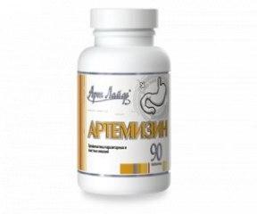 Артемізін комплекс для захисту організму від більшості гельмінтів та найпростіших