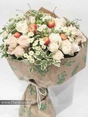 Доставка квітів - Букет із троянд